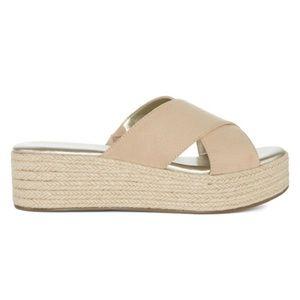 a.n.a Shoes - NWOB a.n.a. Erin Wedge Platform Sandals